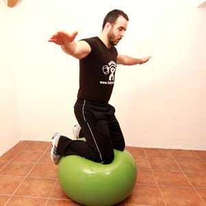 EQUILIBRIO rodillas fitball -2